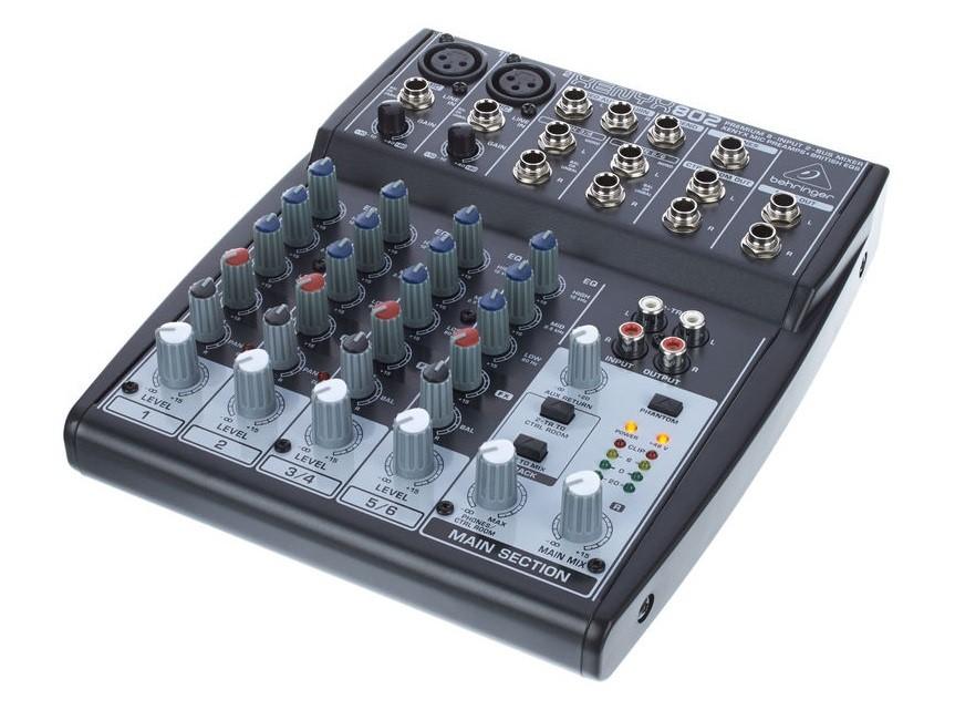 Small Compact Desktop Audio Mixer / Interface