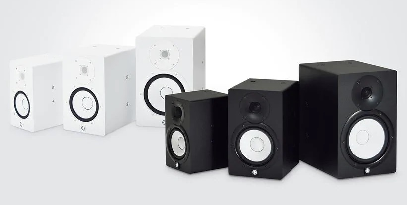 Yamaha HS Series Studio Monitor Speaker Range