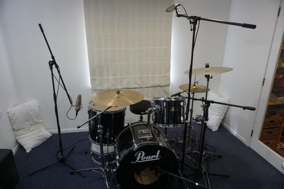 Glyn Johns Drum Recording Technique Microphone Position