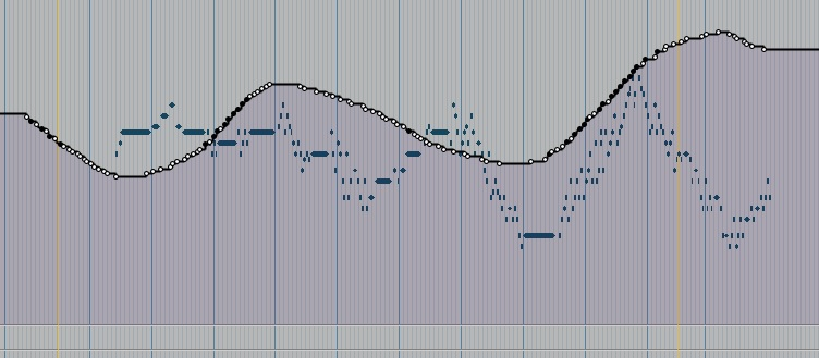 Volume Automation curve in Pro Tools