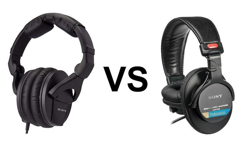 Sony MDR7506 and Sennheiser HD280 Headphones